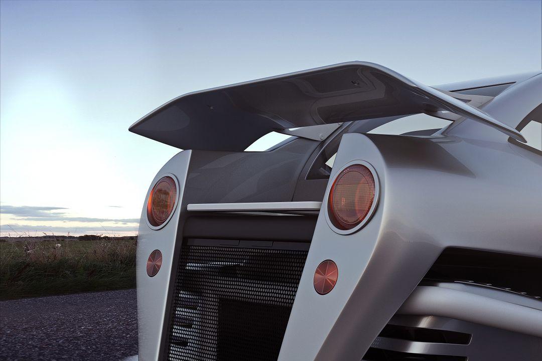 Automotive 3D Modeling Test 01 Exterior closeup02 Back jpg