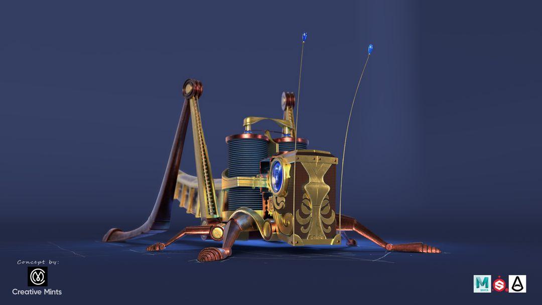 Steampunk Grasshopper Saltamontes2 jpg