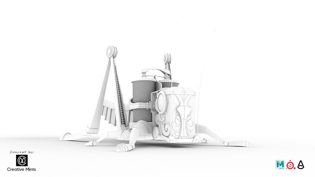 Steampunk Grasshopper Saltamontes2 OC jpg