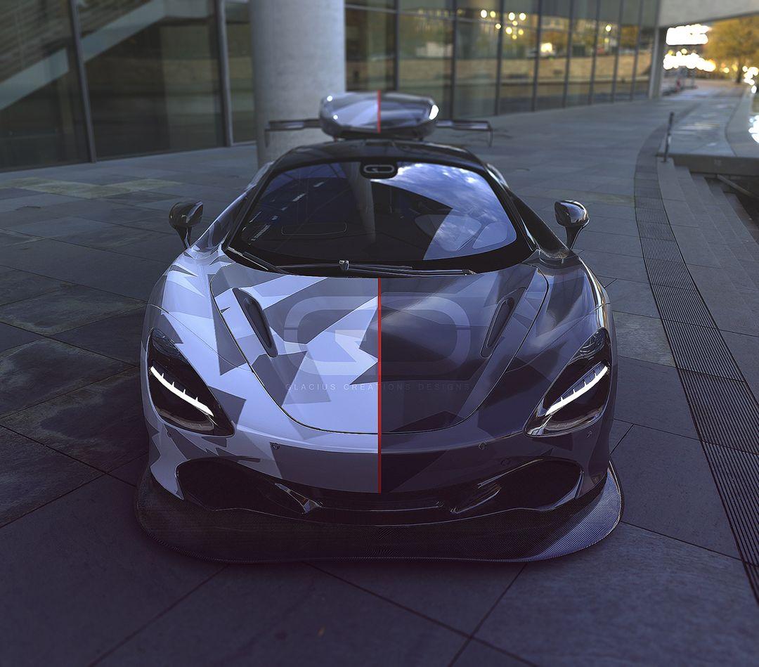 McLaren 720s Arnold Rendering, frontviewfinal jpg