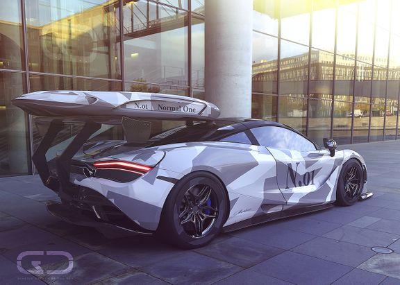 McLaren 720s Arnold Rendering,