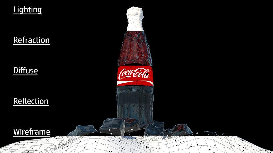 Coke Cola bottle darren o neill coke post processing breakdown jpg
