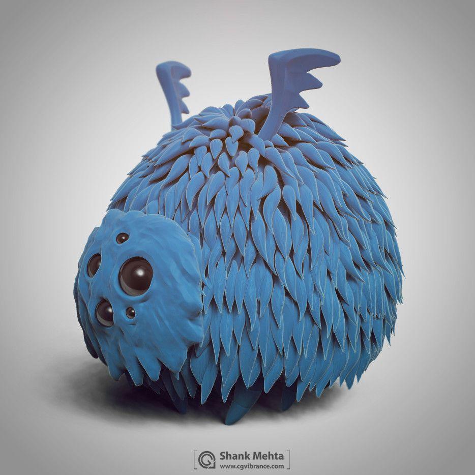 Creatures shashank mehta glom render05 jpg