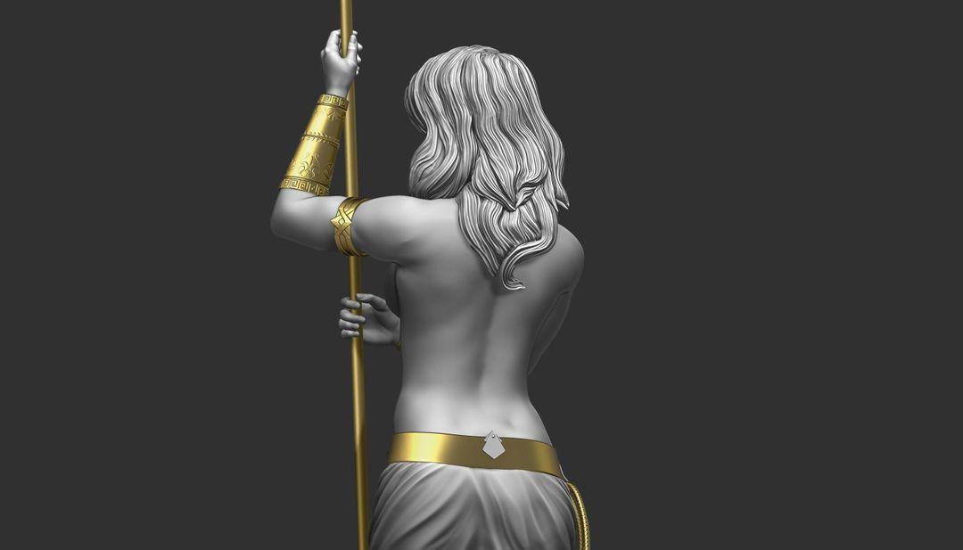 Sculpting for 3d Print WW wip08 jpg