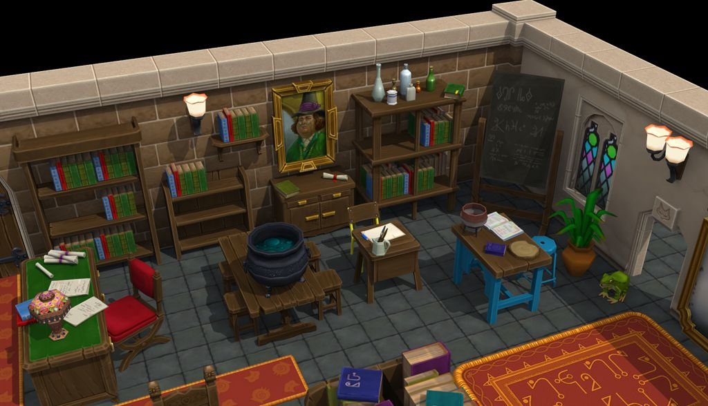 Asset for 'The Worst Witch : Magical Mystery' game for MobilePie / CBBC WW assets 02 jpg