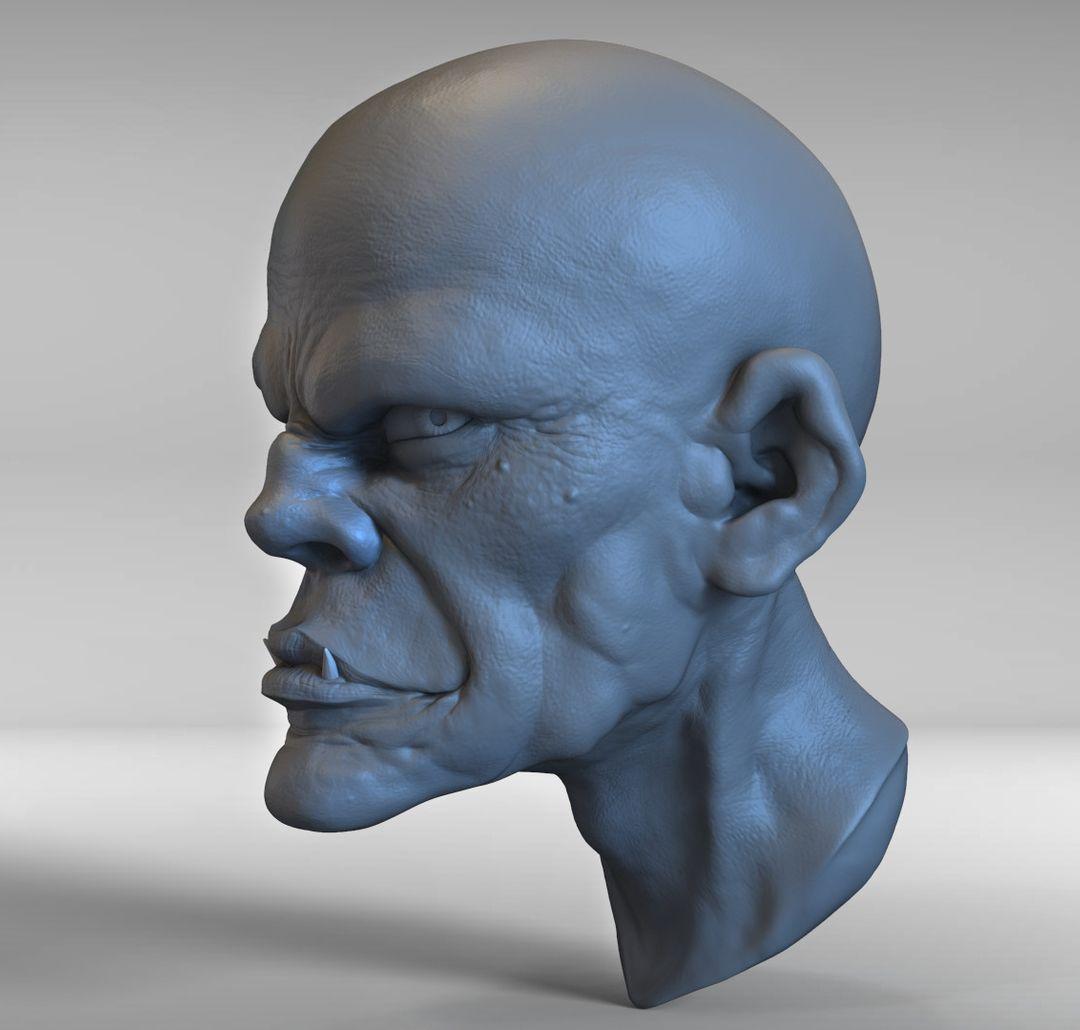 Head Sculpt edwin gautreau practice 14 jpg