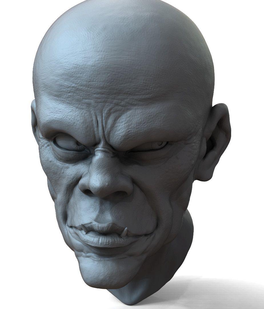 Head Sculpt edwin gautreau practice 19 jpg