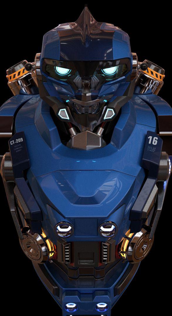 Robot torso model edwin gautreau robo pre jpg