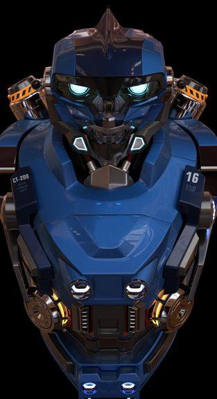 Robot torso model
