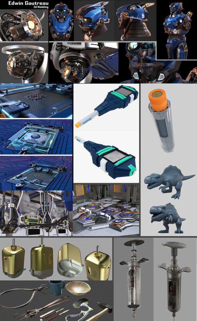 3D Modeling Edwin Gautreau Modelado 3D jpg