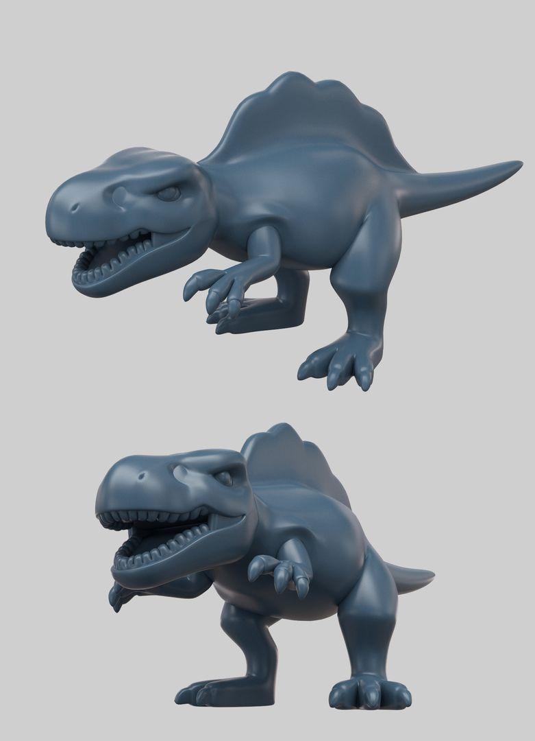 3D Modeling edwin gautreau dino03 jpg