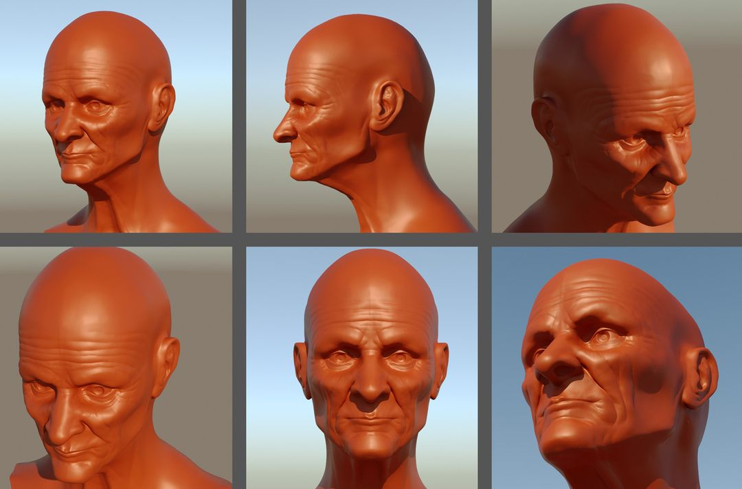 Some head sculpts edwin gautreau oldmantestt jpg