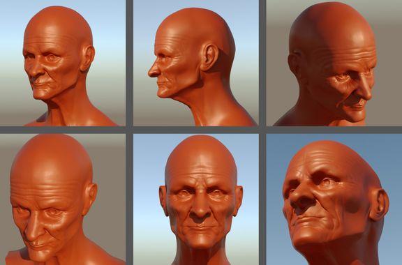 Some head sculpts