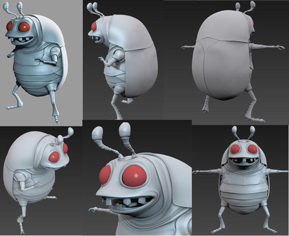 3d Characters edwin gautreau 3dblue jpg