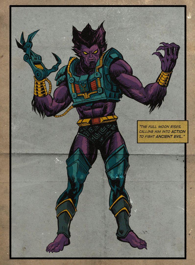 Illustrations edwin gautreau lycanor comic mockup jpg