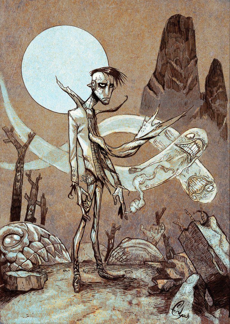 Illustrations edwin gautreau rick mortimer underworld pi 01 jpg