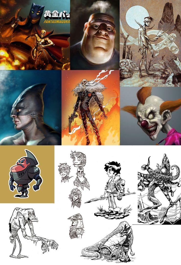 Illustrations 21 Digital Traditional mix w jpg