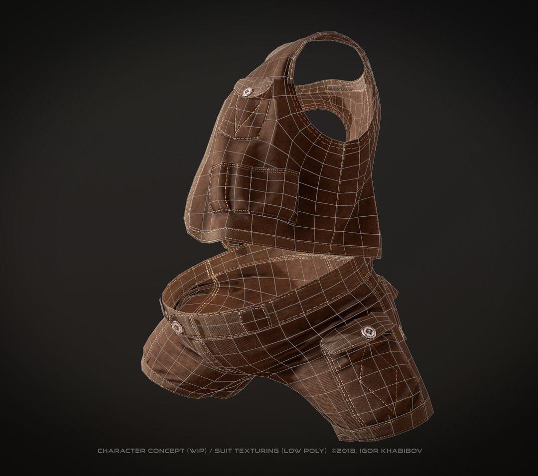 Low-poly suit 004 jpg
