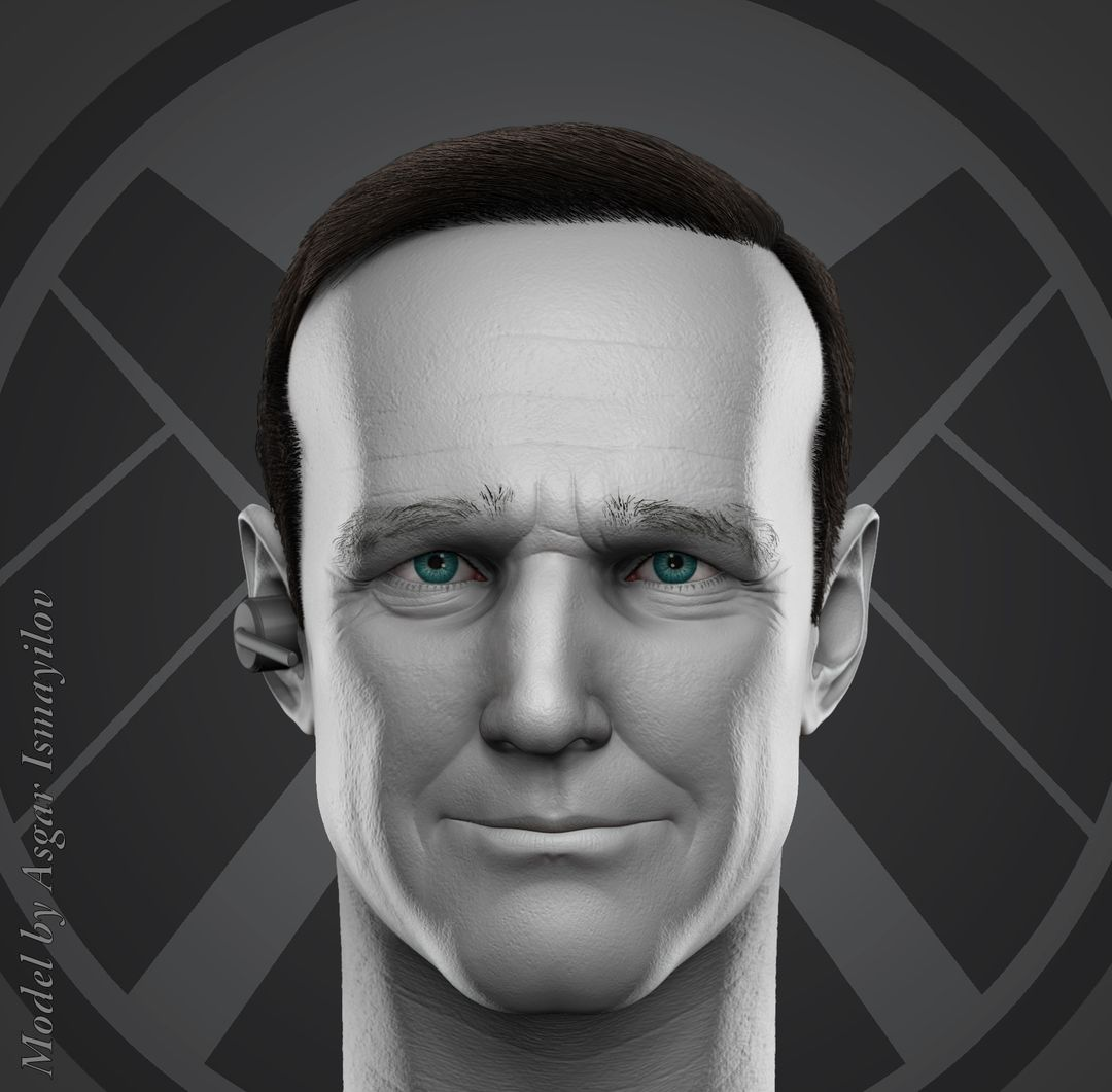 3D art works Agent Phil Coulson 1 jpg