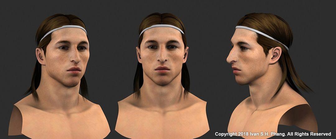 3D Portfolio SpanishLaLiga ramos FIN jpg