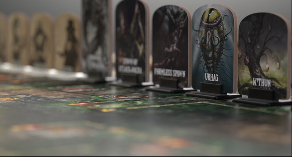 board game renders and logo rework
