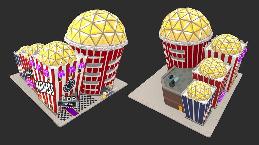 Crazy Taxi : Gazzilionaire Popcorn jpg