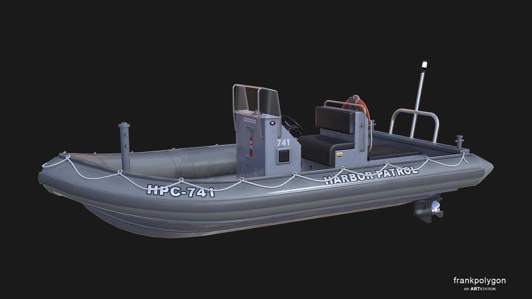 Patrol boat (real-time simulation vehicle) RHIBv3 LP 11 jpg