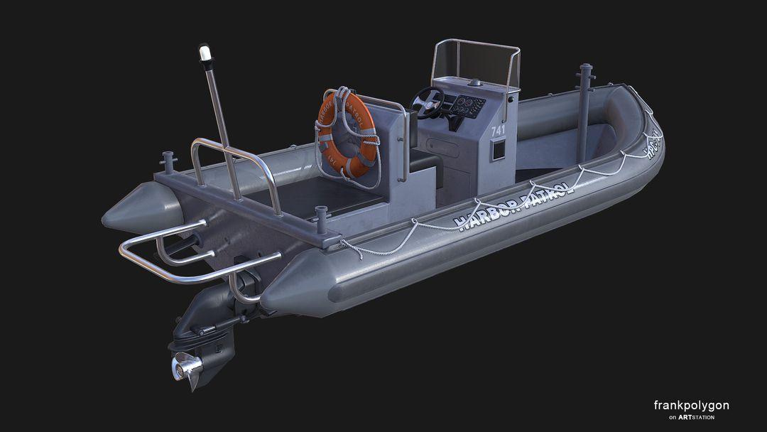 Patrol boat (real-time simulation vehicle) RHIBv3 LP 13 jpg