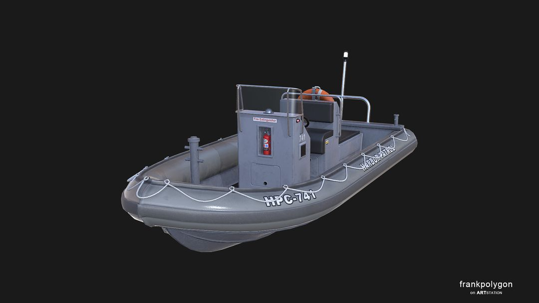 Patrol boat (real-time simulation vehicle) RHIBv3 LP 9 jpg