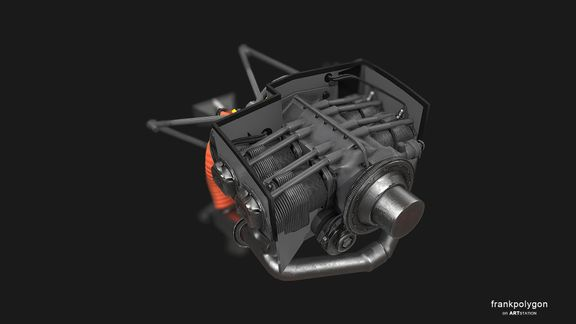 Four cylinder engines (real-time simulation)