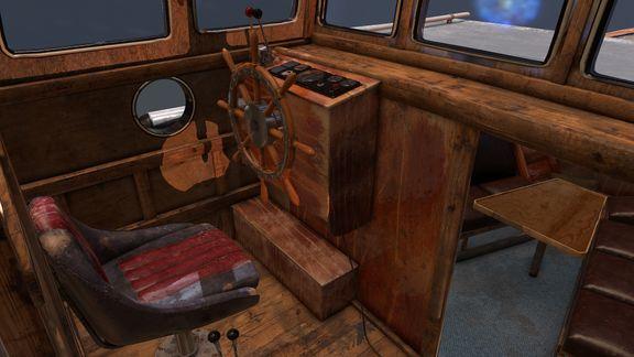 inside BORGE ship