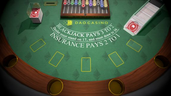 Blackjack game 3D
