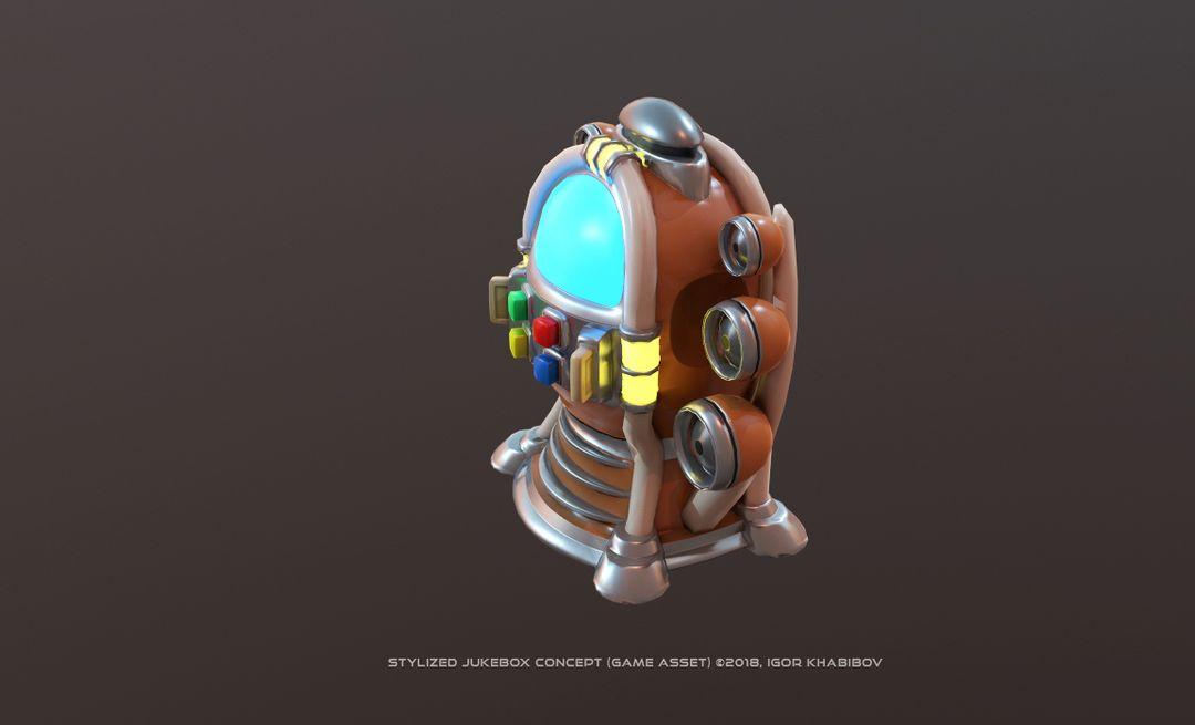 Stylized Jukebox Jukebox Shapes Concept 002 jpg