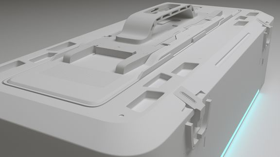 sci fi crate hardsurface assets