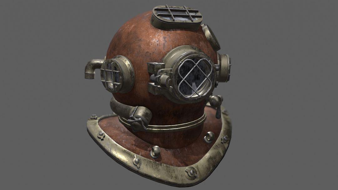 Diving Helmet Diving Helmet 1 jpg