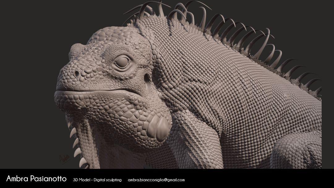Iguana - realistic project 03 1 jpg