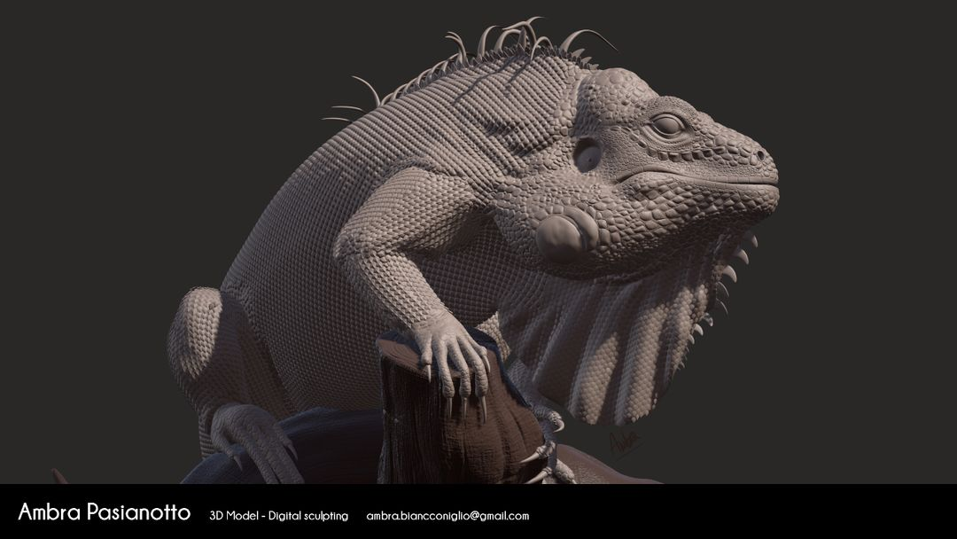 Iguana - realistic project 06 1 jpg