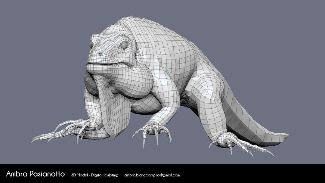 Iguana - realistic project 09 jpg