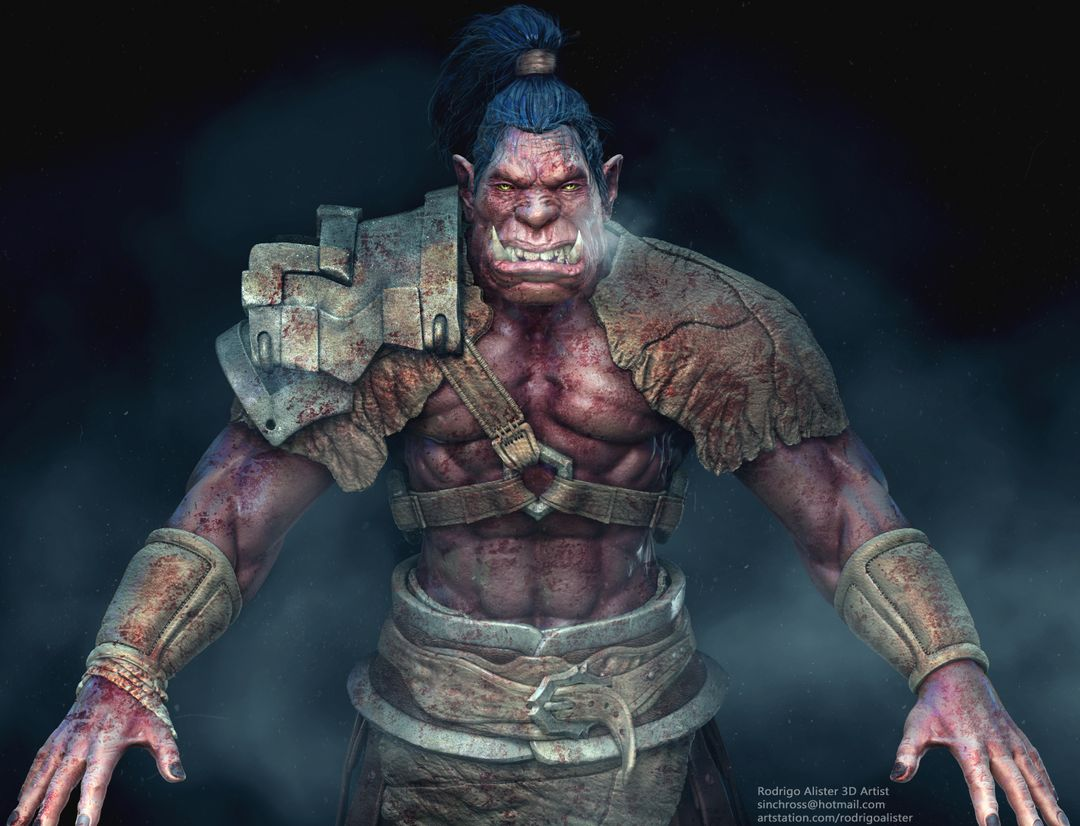 Orc Modeling Work in Progress Orc Composite 2 Edited jpg