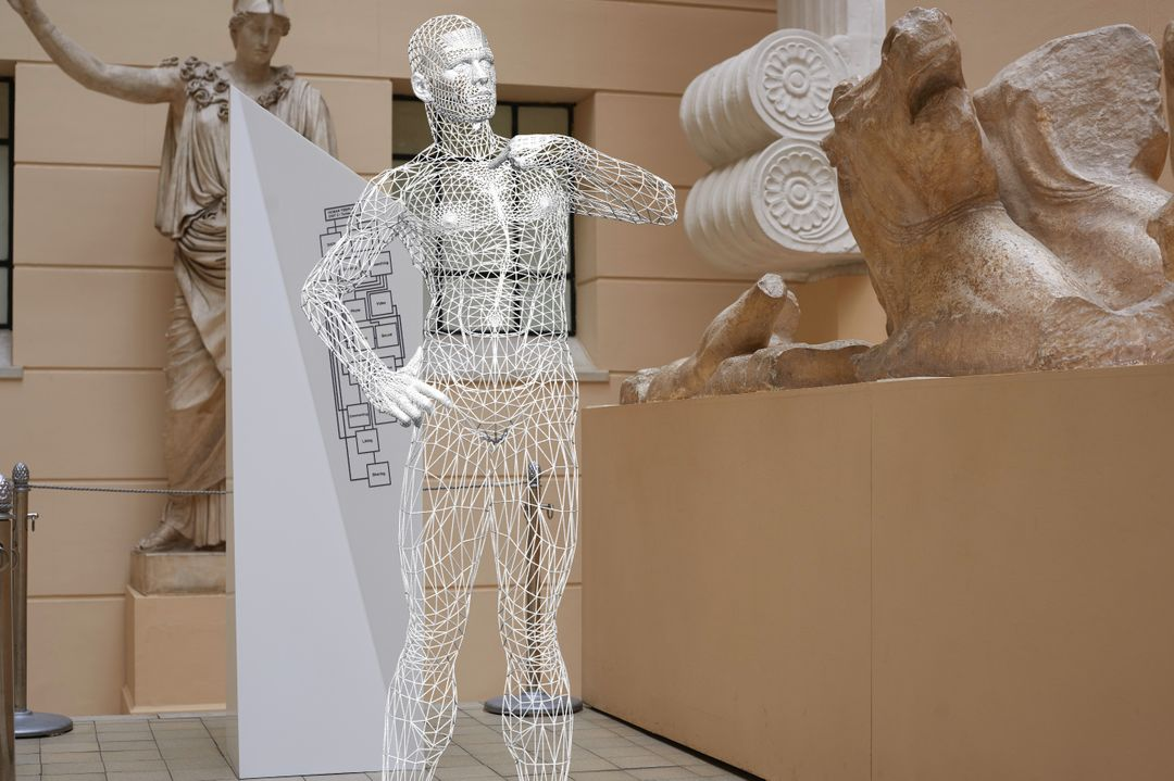 Augmented Reality in Art Exhibitions Twitterian01 jpg