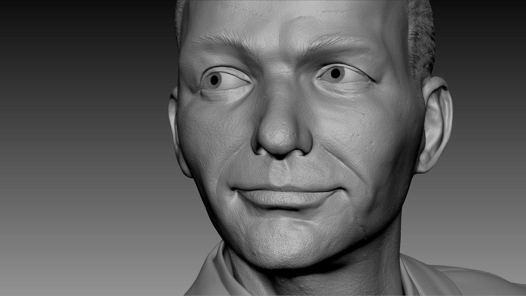 3d Sculpting Frank Sinatra Bust 3d sculpt 03 jpg