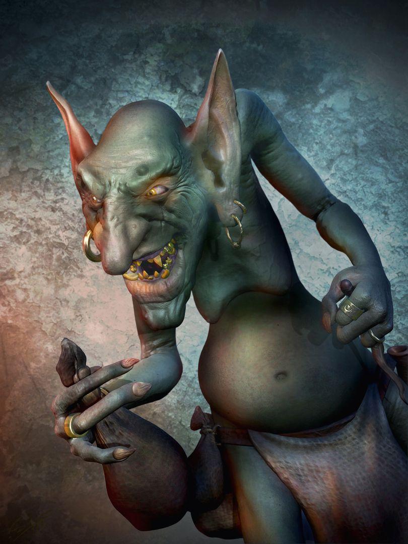 3d Sculpting Goblin main jpg