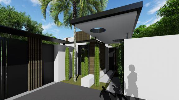 Villa- 3D modeling
