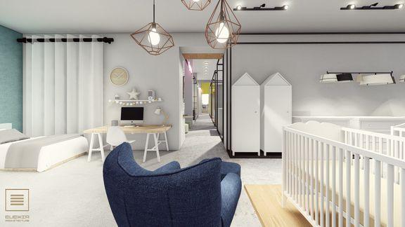 Interior design - baby store