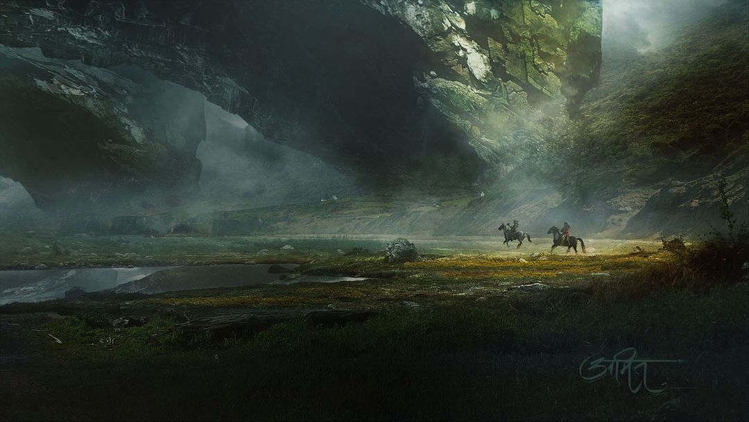 Digital Matte Painter/ Concept Artist amit nitore afrer the earth jpg