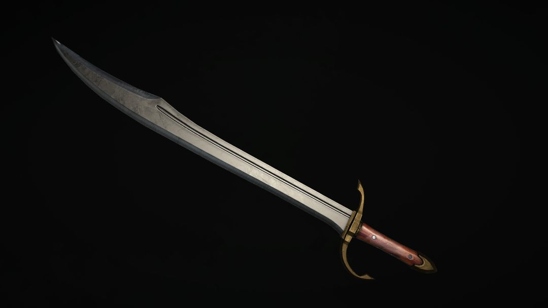 Create and Texture a Weapon with PBR Textures dale williams screen02 jpg