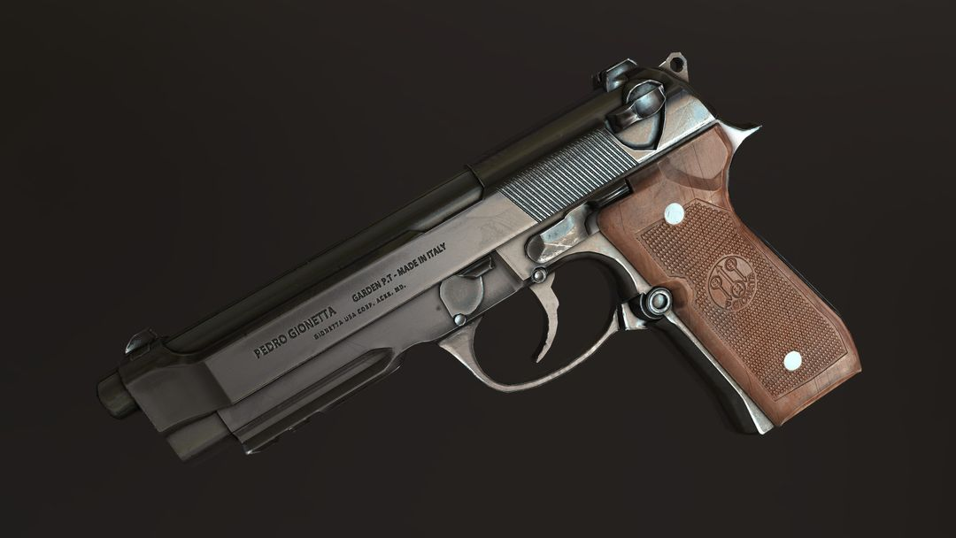 Create and Texture a Weapon with PBR Textures dale williams screen08 jpg