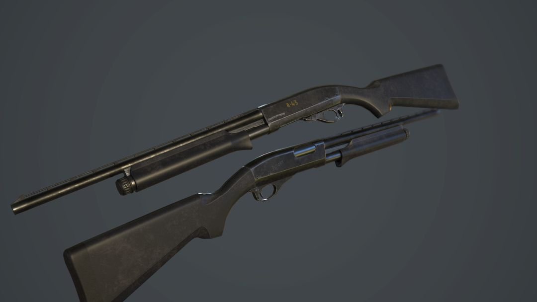 Create and Texture a Weapon with PBR Textures dale williams screenshot007 jpg