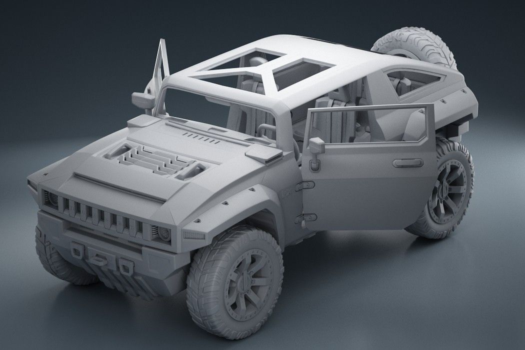 Mercedes Benz GLA - Fully Rigged clay2 1 jpgbfe6ecf8 9de6 420b 8906 9f69430cb8a2Original 1 jpg