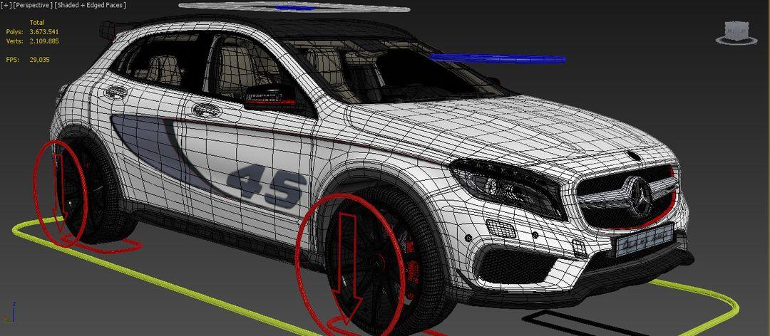 Mercedes Benz GLA - Fully Rigged wire2 1 jpg007e941e db79 4f41 831a 7367d369b0ceOriginal 1 jpg